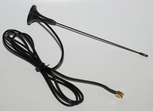 Antenna with magnetic base for 70cm band